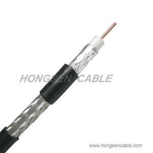 RG6 60% Quad Shield Coaxial Cable